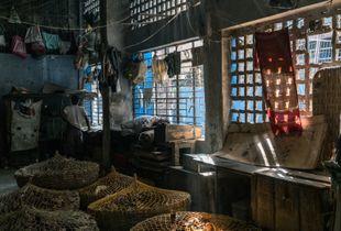 Inside the Chicken Market - Kolkata