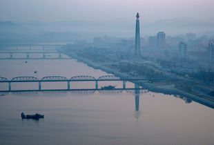 Dawn in Pyongyang
