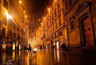 Pioggia al Natale