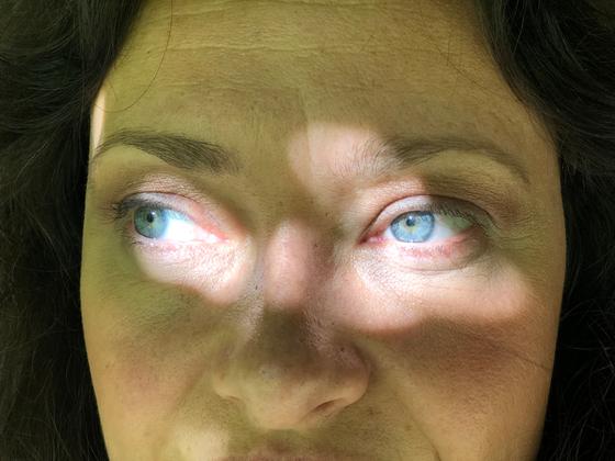 Marcela's eyes