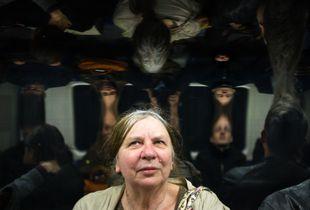 Strange people on the London tube