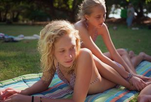 Kyra and Kaylista, Kanaha Park, Maui. 2009