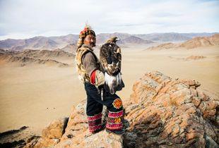 Dalaikhan and his Golden Eagle