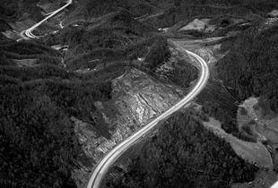 I-26 at Buckner Gap,                        Madison County, NC