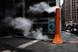 Steam pipe, New York City