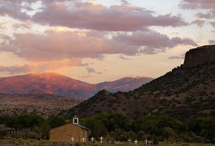 Black Mesa, San Idelfonso Pueblo, NM