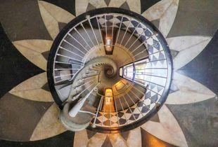 Au pied de mon escalier