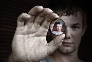 Doubler lens portrait
