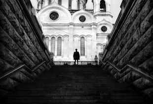Stranger in Moscow series - Christ the Saviour Cathedral IV