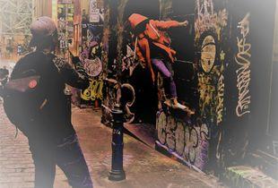 8 Melbourne street life Graff