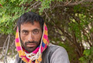 Kashmiri Labourer, Lamayuru, Ladakh
