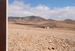The desert of Fuerteventura