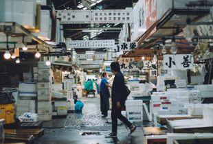 Japanese Fish Market.