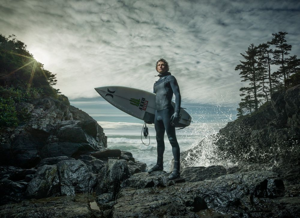 Gerard Yunker Canadian Surfers In Their Hometown Of Tofino Bc Lensculture