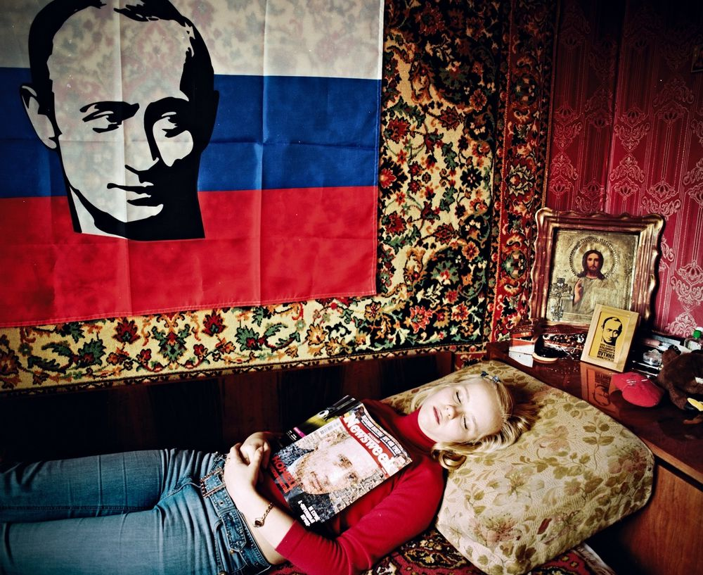 Fan Club Putin Photographs And Text By Bela Doka Lensculture