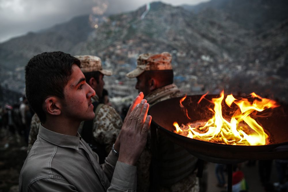 Lefteris Partsalis - Newroz celebration in Akre village of Iraqi Kurdistan   LensCulture