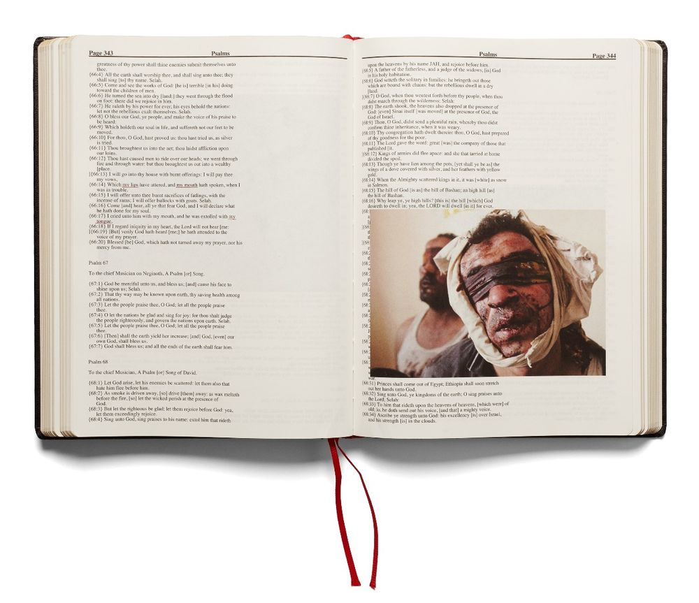 Holy Bible - Photobook by Adam Broomberg & Oliver Chanarin | LensCulture