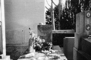 The Grave of Gerda Taro