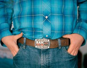 Matthew Faircroft-Robert's belt