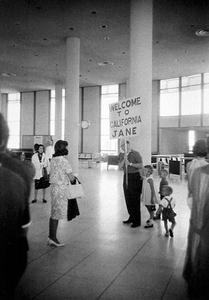 Los Angeles Airport,1964 © Garry Winogrand