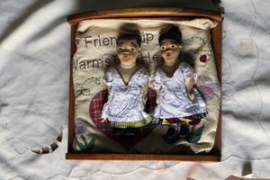 Jumeaux au lit