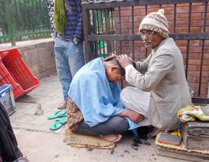 Kathmandu barber