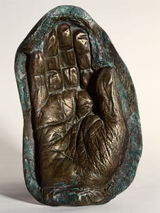 Mold of the right hand of Francisco Franco. From the Spanish Army Museum.