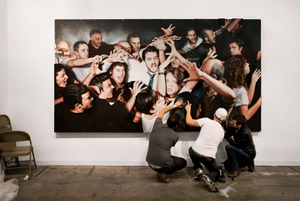 Nina Menocal, Armory Show 2011  Artist: Martin y Sicilia  © Andy Freeberg