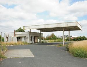 """Station #18, from """"Twentysix Abandoned Gasoline Stations"""" © Eric Tabuchi"""