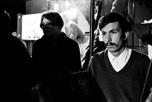 Backstage at the Belgian jazz Festival, Bilzen, 1967