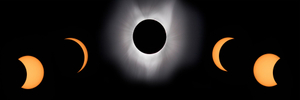 2017 Solar Eclipse Phases Montage