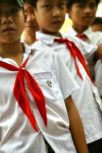 School boys in Vietnam