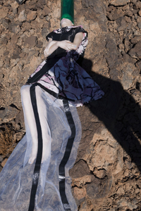 "POP magazine. From the photobook ""In and Out of Fashion"" © Viviane Sassen"
