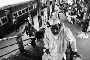 IMPRESSIONS AT THE OLD DELHI RAILWAY STATION 56