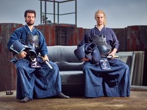 Kendo double portrait