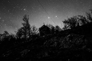 Night Landscape, with Chapel