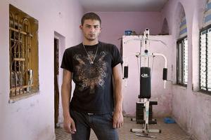 "Jehad (Arrabe, Muslim) From the series ""Eighteen"" © Natan Dvir"