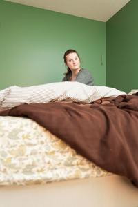 Derrien in Her First Apartment