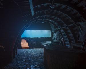Piranha's aquarium, adit 9, Kowary