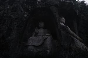 Giant Buddha statues