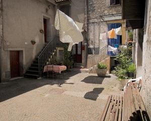 Fiuggi, Inner Courtyard