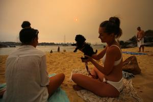The 'New' Normal: Smoke Haze at Milk Beach