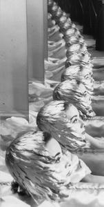 Audrey Hepburn, New York, 1950's. Gelatin silver print. Vintage print. Private collection, Switzerland © The Estate of Erwin Blumenfeld