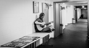 Fury in the Slaughterhouse Backstage - On his own