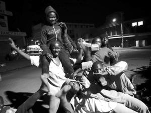 Hanging out,  (Kitale, Kenya)