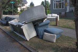 Abandoned Sofa #10
