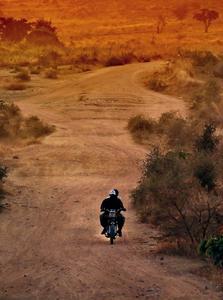 Sur la route, au nord entre la frontière du Nigeria et le Cameroun.