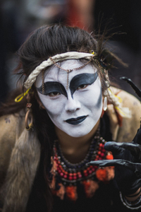 The witch - Street performer