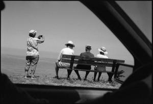 Tourists and photographer . Corsica
