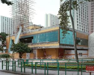Folded restaurant #2, Tai Hing Estate, 6/2012